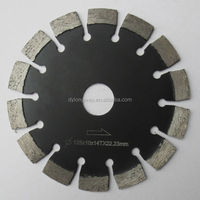 "5""x7/8""-5/8"" Laser cutting saw blade,concrete cutting saw blade,grooving blade for wall.Fast! Sharp! Durable!"