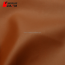 Fashionable china style dark brown faux leather fabric