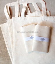Natural colour custom cotton bread bag & wholesale cotton cloth bag
