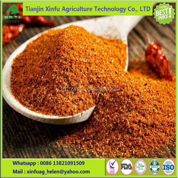 Sweet yellow yidu chili powder