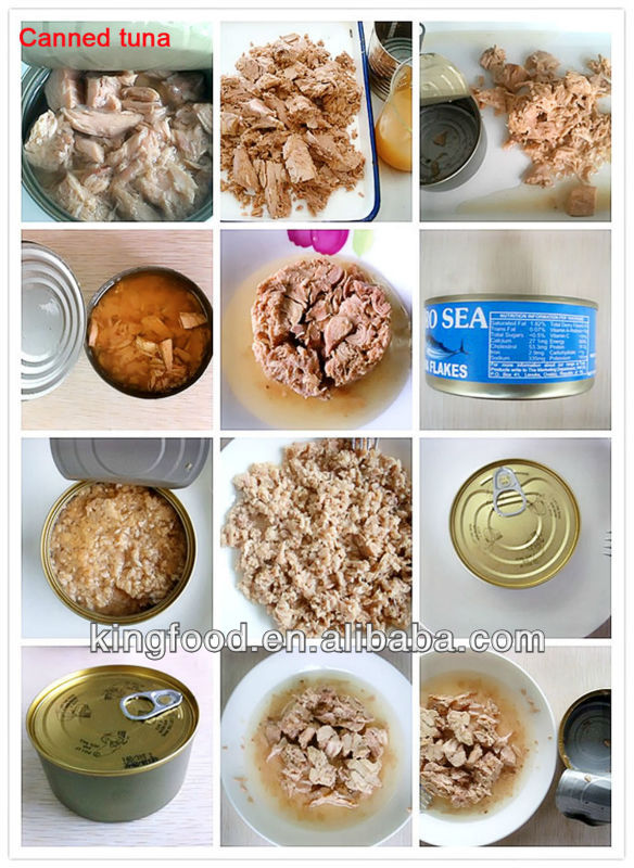 High quality Canned tuna chunk /flake/shredded