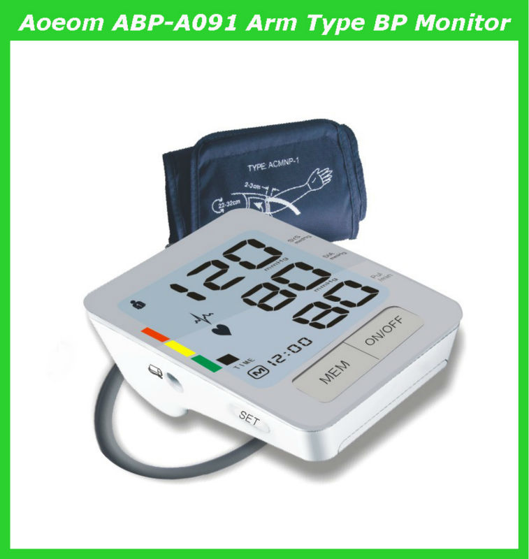 Digital blood pressure measuring devices with heart rate monitor