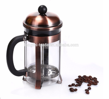 Amazon Hot Selling Heat-resistant French Coffee Press, Tea & Coffee Maker, Coffee Tools