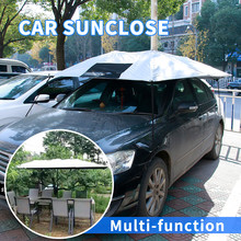 Summer and spring sun protection heated car rear and front window sun visor