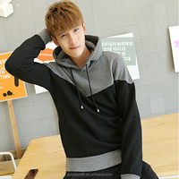 Men's Blank High Quality Two Tone Hoodies