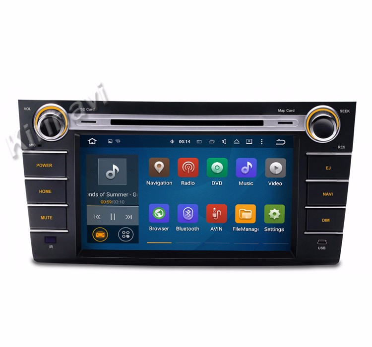 Kirinavi WC-SS8071 android 7.1 touch screen car dvd player car radio for suzuki swift 2004-2010 gps navigation wifi 3g bluetooth