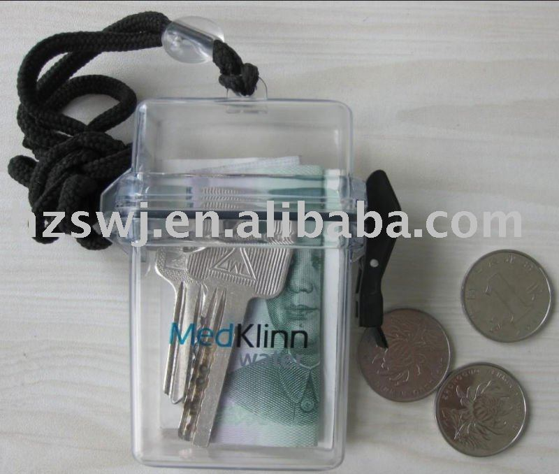 Beach waterproof pot/waterproof case for cell phone/mini waterproof container