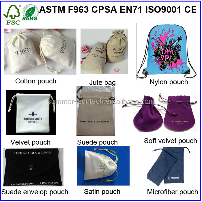 leather/satin/fabric Material and Promotion Industrial Use Leather Pouch