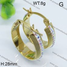 Factory Price Latest fashion gold earrings 2012 new design