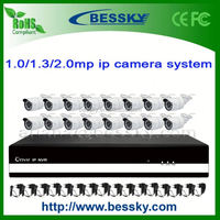 16ch Complete Cctv Systems h264 network dvr network viewer dvr 1080p ip camera BE-6016SLIPWH