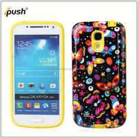 Mobile Phone Accessories tpu pc case for samsung s4 mini tpu+pc case for samsung