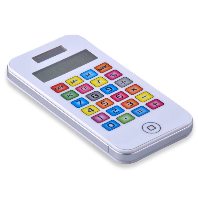 Phone Pocket Mini Calculator in Low Price with Colorful Surface