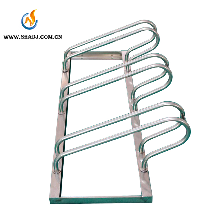 customized outdoor park public Surface Mount Single Bike Rack/Spiral Cycle Bicycle Stand