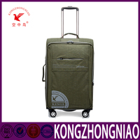 fashion designed laptop bag with trolley Business travel style luggage trolley bag