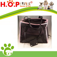 Small Treasures Soft Case Pink Black Pet Cat Carrier Airline Tote Travel Bag