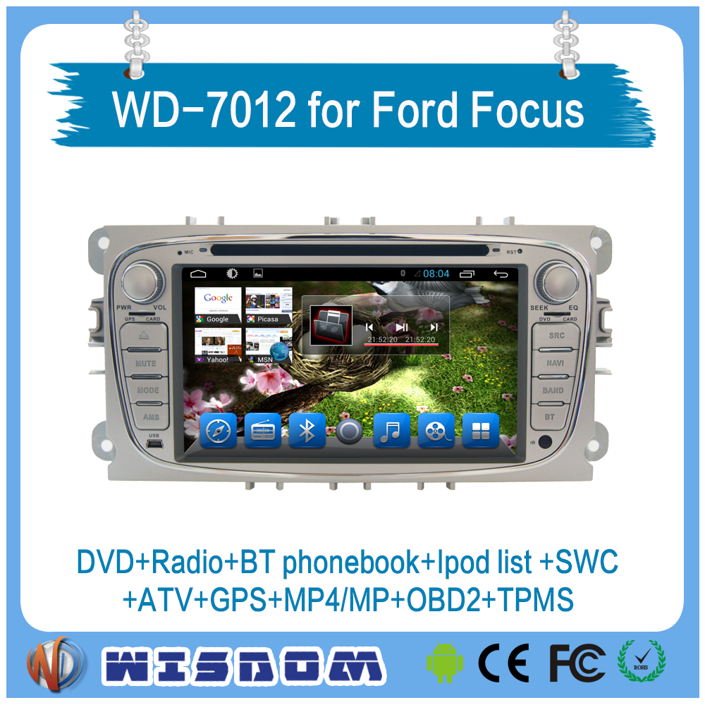 2016 car multimedia player for Ford Mondeo/Focus/S-Max 2008 2009 2010 2011 usb radio cd audio car system ipod tpms bluetooth CE