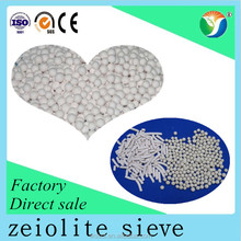 zeolite 4A molecular sieve used as a static desiccant in household refrigerating systems