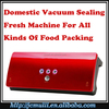 2016 small food vegetable meat vaccum packing sealing machine