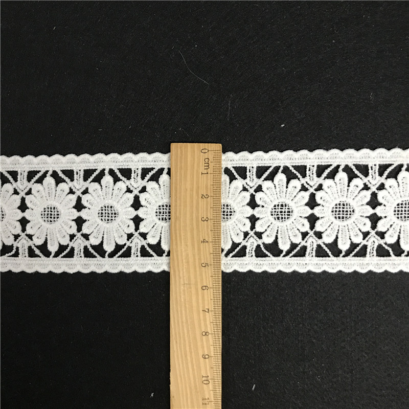 Narrow crochet cotton french lace trimming wholesale ecclesiastical lace trim