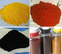 fine powder red black green color iron oxide pigment/red iron oxide and yellow pigments