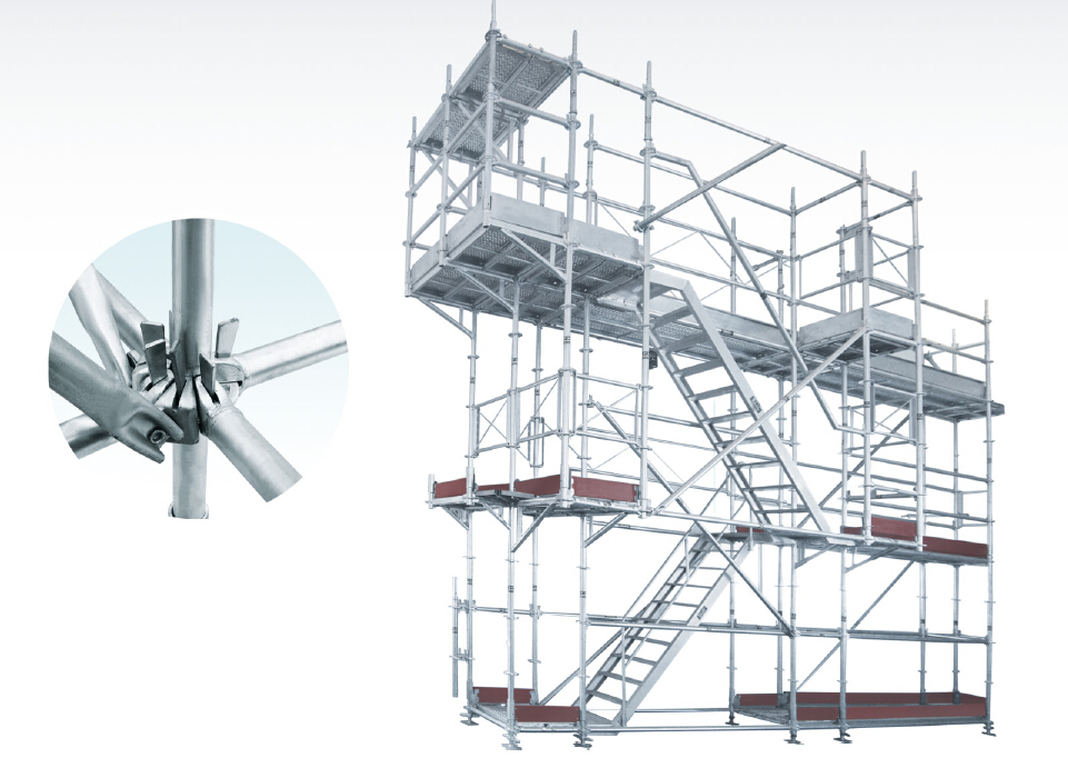 High Quality Steel Ringlock Scaffolding System View