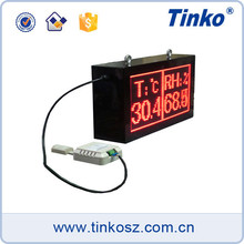 Tinko monitor indoor led display 4~20mA output large temperature display board