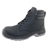 S3 standard microfiber leather PU rubber sole waterproof antistatic safety shoes
