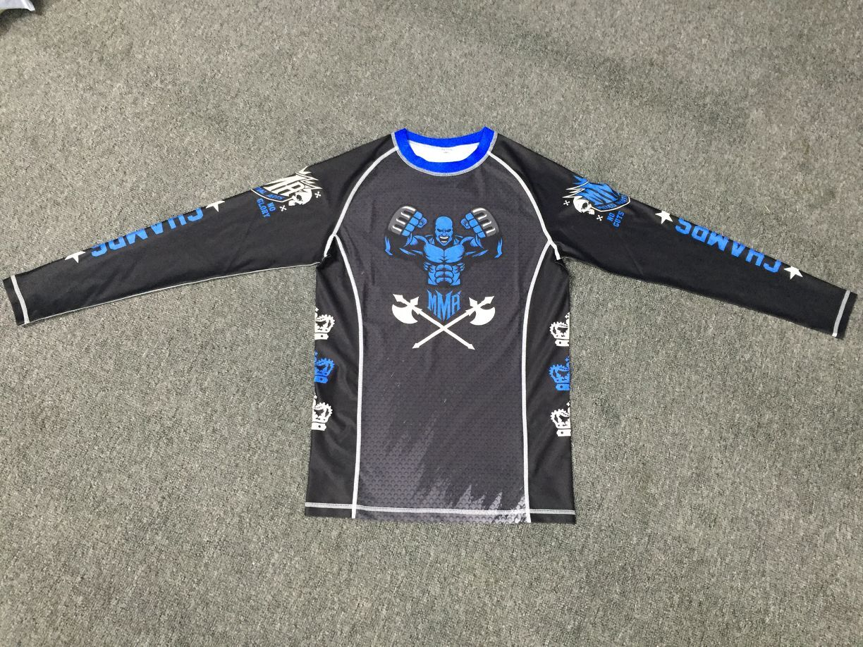 custom printed women rash guard bjj manufacturer wholesale design your owe mma rash guard