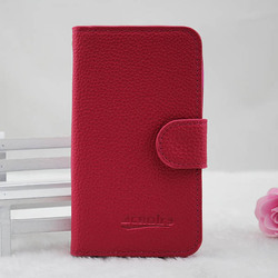 Purse wallet leather case for samsung galaxy note 3 in stock