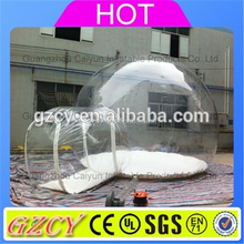 Big Discount inflatable clear dome tent, cube inflatable tent for sale