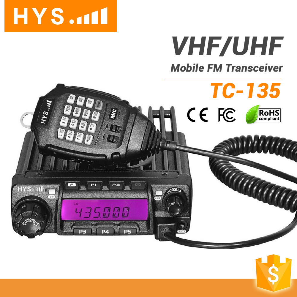 Cheap VHF 136-174 MHz Radio For Car TC-135 With CE Approval