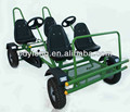 HOT SALE from manufacture four seats pedal go kart ,sand beach kart(F4150)