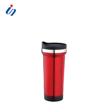 2016 Newly Design Premium 18/8 Stainless Steel Car Travel Mugs Coffee Mug With Screw Top & Bottom
