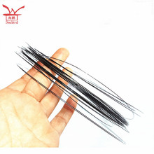 The Stock for Dia0.45mm Shape Memory Alloy Nitinol weld loop with transformation temperature 55 degree celsius