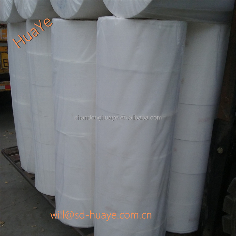 Huaye spunbond 100% pp nonwoven felt in roll for oversea manufactory