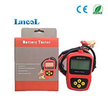 Automotive Multi Languages Hot Sale Motorcycle diagnostic tool 12V Battery Tester Analyzer Micro-30