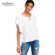 Wholesale White Sexy Women Tops