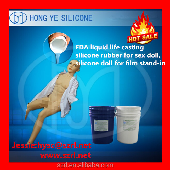 Soft skin safe silicone rubber for life casting and inflatable dolls ,sex toys , artificial penis