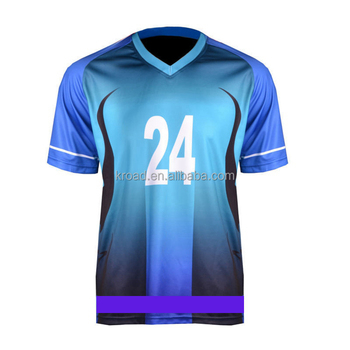 2016 new design custom soccer jersey sublimation Dry- fit