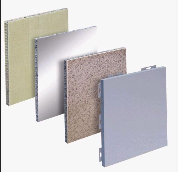 aluminium composite panels honeycomb price/building construction material