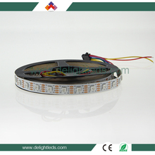 Delighted digital APA102 60 led pixel strip 12w 5050RGB led strip for sale