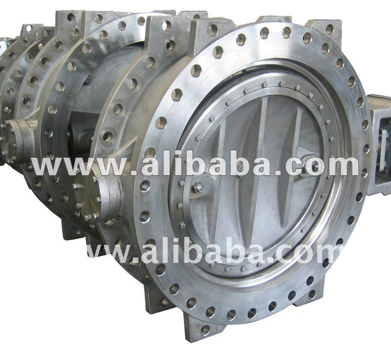 Water Works Butterfly Valve, Flange Type