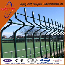 Designs of welded curve fencing for home / garden fence system folding fencing prices / wire mesh fence for backyard