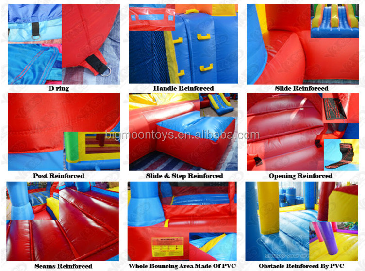 2017 hot commercial princess cheap inflatable bouncers for sale