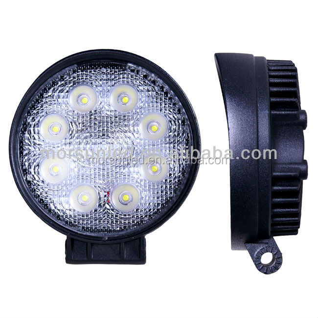 China factory morsun 24W offroad vehicle lights car tuning light, 24W LED driving light, 24watt led worklights