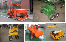 petrol driven artificial grass sweeper/brush machine for artificial grass/artificial turf tool