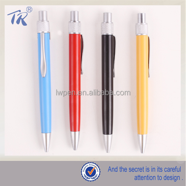 Hi-Tech Metal Trim Pen