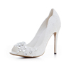 Phoees Hot Selling New Fashion high heel shoes White Dress Shoes Womens