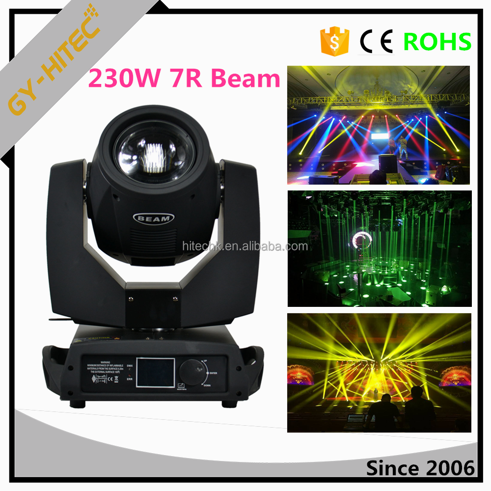 Pro Dj light 230W sharpy moving head beam light 7r beam 230 moving head