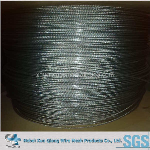 DIN standard steel wire rope for tower crane